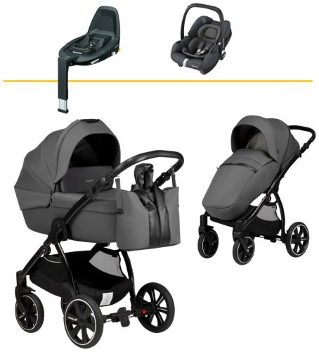 Luno All Trails 2v1 Ocean Wave 2021 +Maxi Cosi Tinca Essential Graphite 2021 +Maxi Cosi Familyfix3